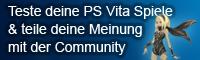 PS Vita Spiele testen