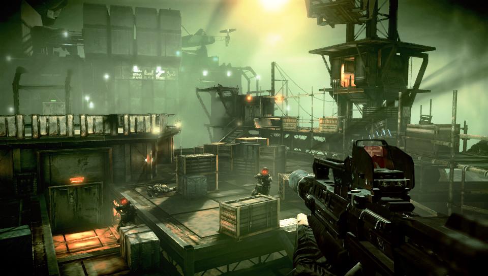 So präsentiert sich Killzone Mercenary auf der PlayStation Vita.