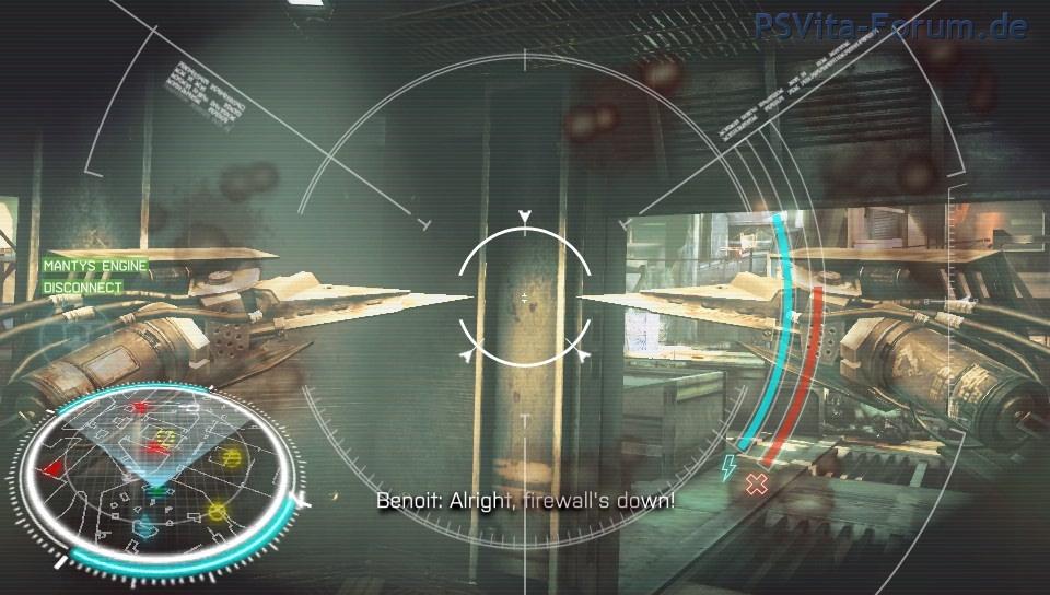 """Dieses Van-Guard-System nennt sich """"Mantys Engine"""", lässt sich fernsteuern und zerschneidet die Köpfe der Gegner."""